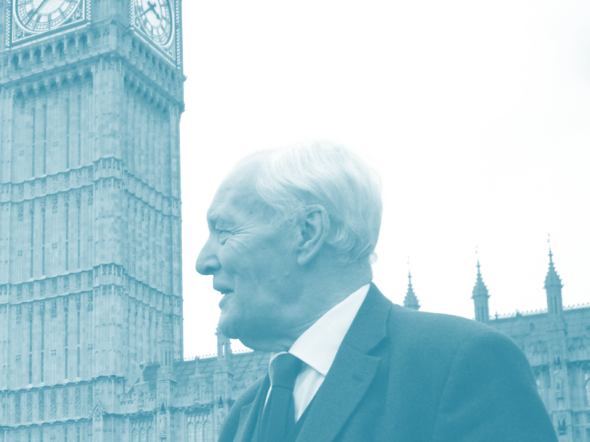 A TRIBUTE TO TONY BENN: When he asked my name…